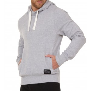 Stickman Gymwear Pullover Hoodie – Heather Grey - SOLD OUT