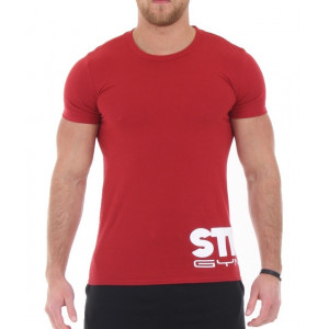 Stickman Gymwear Wraparound Logo T-Shirt - Red